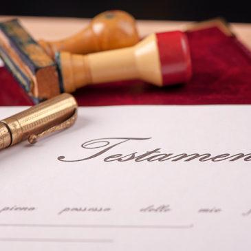 La importancia de hacer testamento
